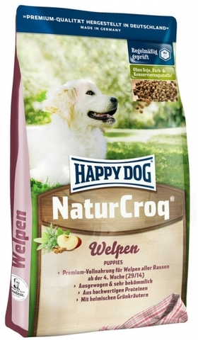 HAPPY DOG NATURCROQ WELPEN 15 кг