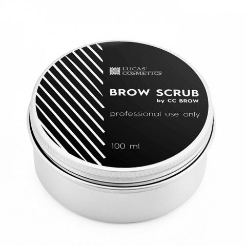 Скраб для бровей - CC BROW - Белый