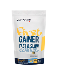 Be First Gainer Fast & Slow Carbs (1000 гр/ваниль)