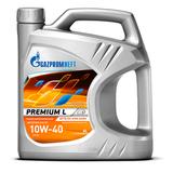 Gazpromneft Premium L 10W-40 - Полусинтетическое моторное масло (4л)