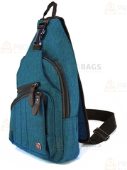Однолямочный рюкзак SWISSWIN 7301 Синий