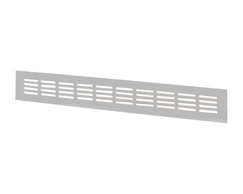 Решетка Vents МВМА 600х60 мм Серебро