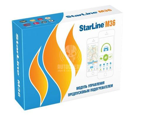 Модуль управления предпусковым подогревателем StarLine M36  GPS/ГЛОНАСС