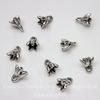 """Подвеска """"Колокольчик"""" 8х7 мм (цвет -  античное серебро) 10 штук"""
