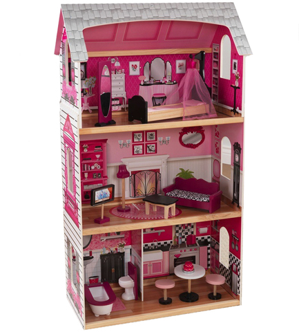 KidKraft Pink and Pretty - кукольный домик 65865