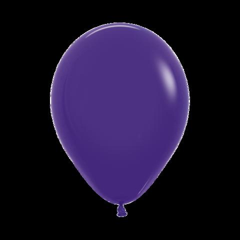 Латексный воздушный шар, цвет фиолетовый