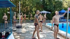 Плавки национальные  DIAPOLO с символикой РБ для спортсменов по  водному поло (2016) ПОД ЗАКАЗ