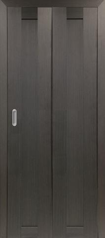 > Экошпон складная Optima Porte Турин 501.1  (2 полотна), цвет венге, глухая