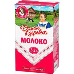 Молоко Домик в деревне для капучино 3,2 %, 950 г.