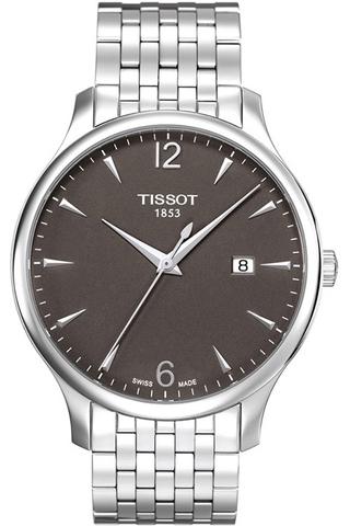 Купить Мужские швейцарские часы Tissot T-Classic Tradition T063.610.11.067.00 по доступной цене