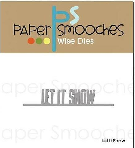 Набор ножей Paper Smooches Die Let It Snow