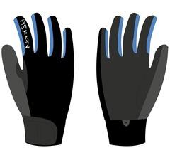 Перчатки Nordski Racing Black-Blue WS 18