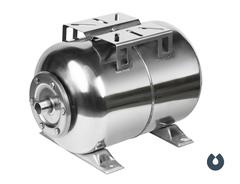 Гидроаккумулятор 24л, (гор.), нерж. сталь, мембрана EPDM