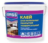 Клей KRASS универсальный акриловый для напольных покрытий