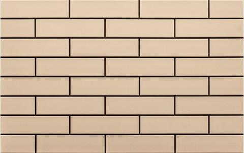 Клинкерная плитка Cerrad, Krem, gladka, 245x65x6.5