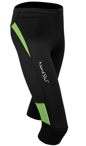 Капри Nordski Premium Black-Green унисекс