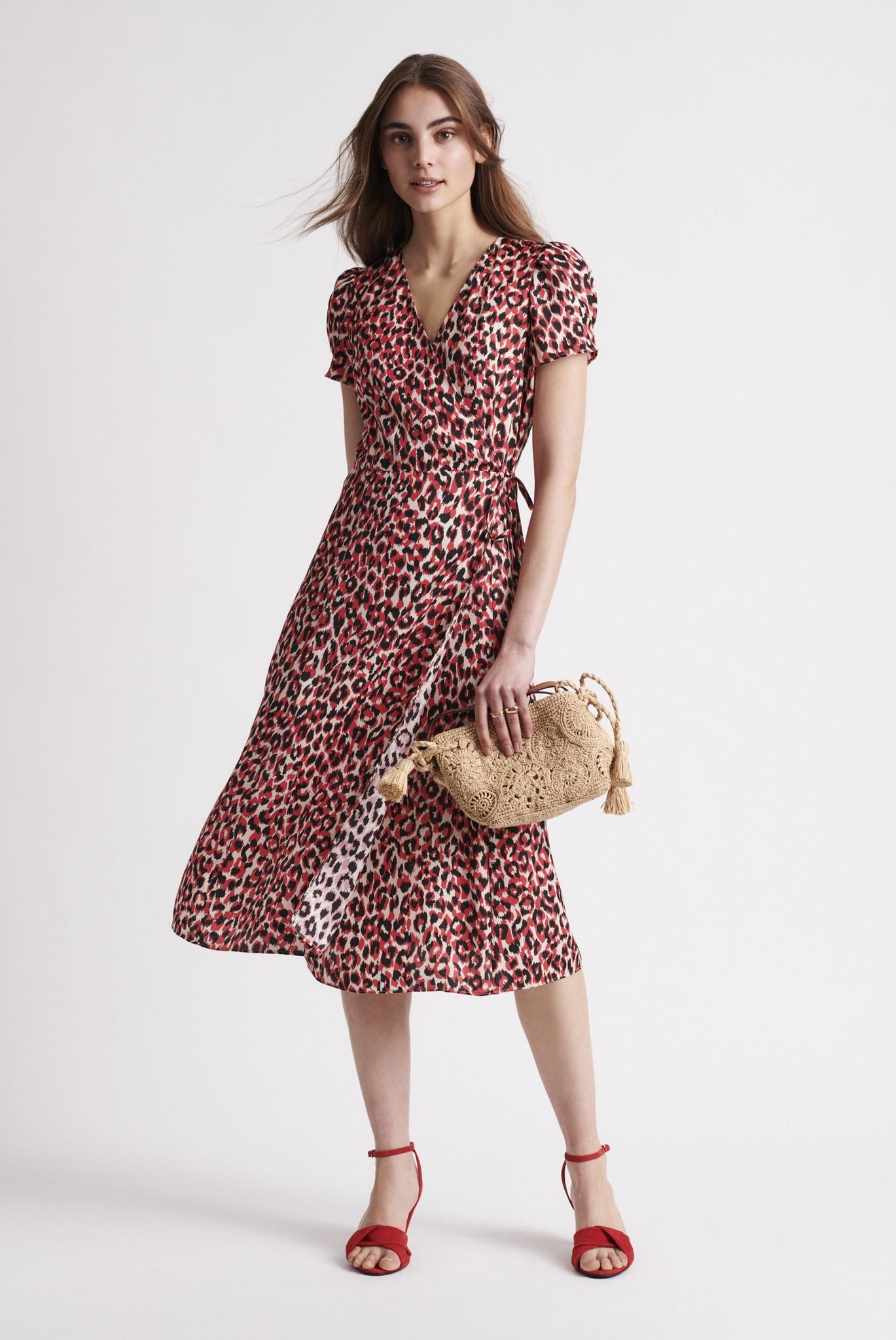 SARA - Платье с запахом
