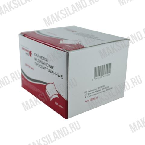 Салфетки проспиртованные 60*100 мм SOYUZ для инъекций UNICORNMED, уп.100шт