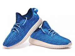 Adidas Yeezy 350 Boost By Kanye West Жен (Navy) (003)