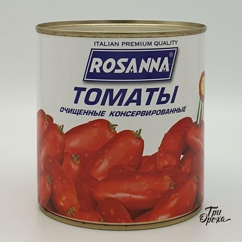 Томаты очищенные консервированные ROSANNA, 800 гр