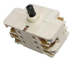 7-ми позиционный переключатель мощности конфорок плит Аристон, Вирпул 41.32723.010