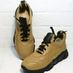 Модные кроссовки женские Poletto 2408 DB