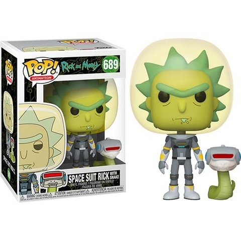 Space Suit Rick with Snake Funko Pop! || Рик в скафандре со змеей. Рик и Морти