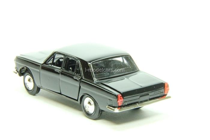 GAZ-24 Volga black Agat Mossar Tantal 1:43