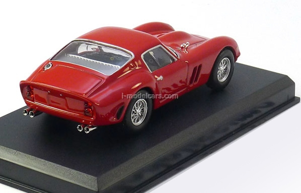 Ferrari 250 GTO 1962 red 1:43 Eaglemoss Ferrari Collection #8