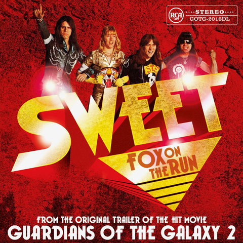 Sweet / Fox On The Run (Coloured Vinyl)(12
