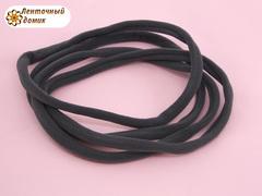 Повязка бесшовная One Size темно-серая длина 15,5 см