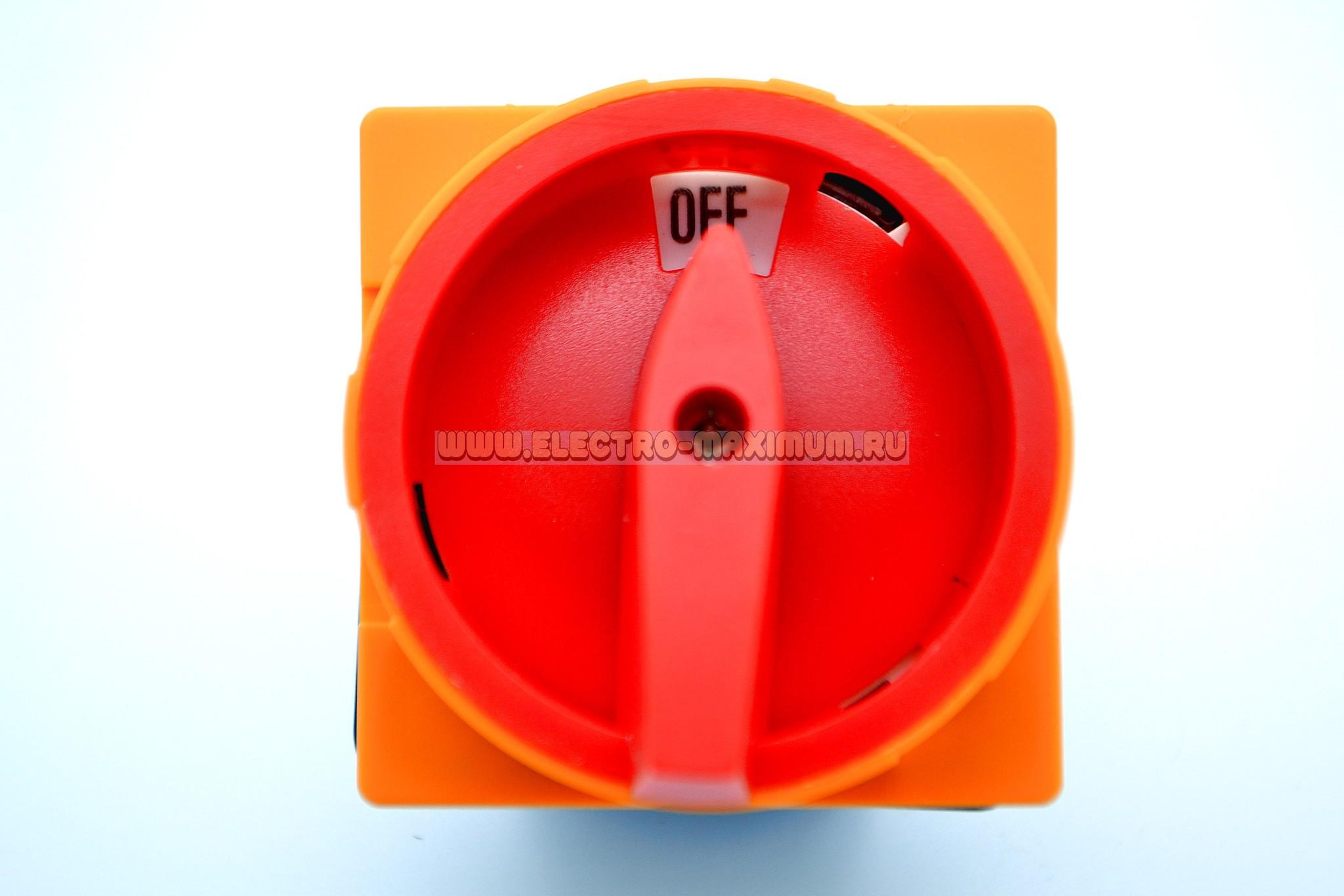 Выключатель главный TWD11-25/P3