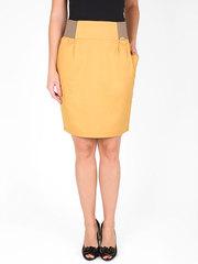 2492-1 юбка женская, горчичная