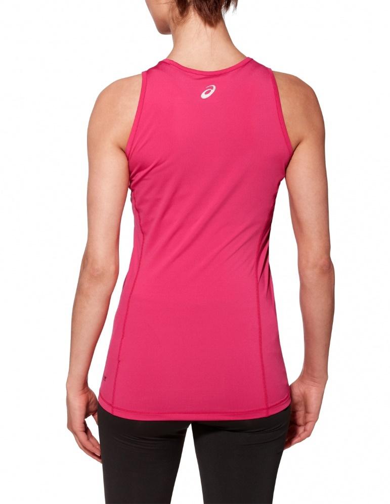 Женская майка для бега асикс Tank женская Pink (110421 0286)