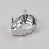 4320/S Сеттинг - основа для страза Капля 14х10 мм (цвет - античное серебро)