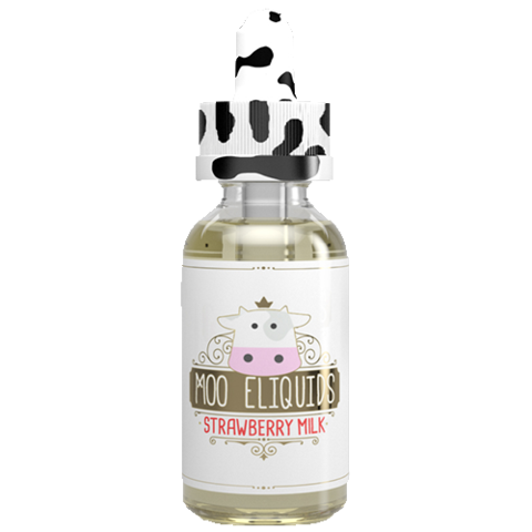 Moo ELiquids - Strawberry Milk (30 мл.)