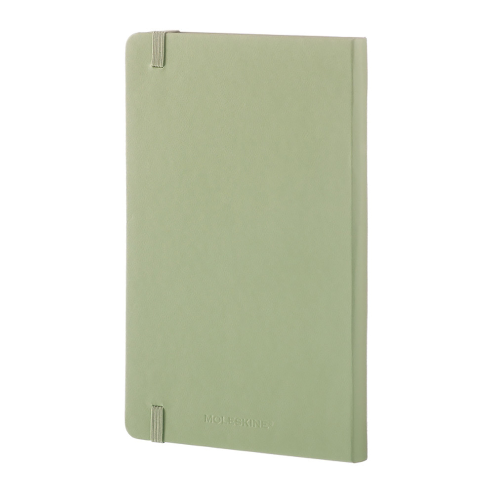 Блокнот Moleskine Classic Large, цвет зеленый, в линейку