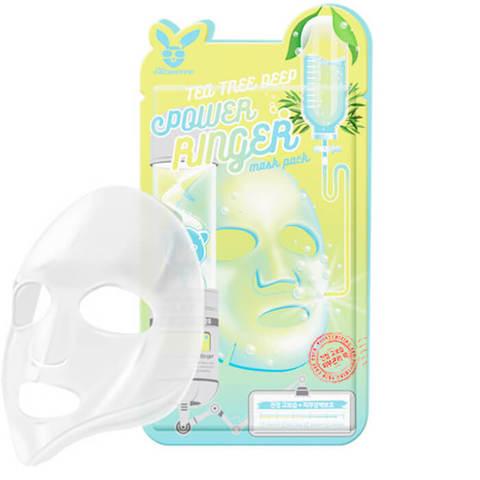 Elizavecca Успокаивающая тканевая маска для лица с экстрактом чайного дерева 23мл
