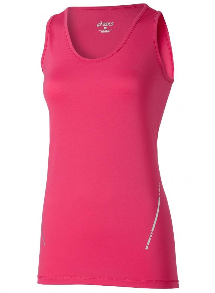 Женская беговая майка Asics Tank женская Pink (110421 0286)