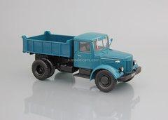 MAZ-205 dump truck blue 1:43 DeAgostini Auto Legends USSR Trucks #34