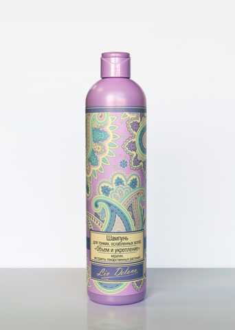 Liv delano Oriental touch Шампунь для тонких, ослабленных волос Объём и укрепление 400г