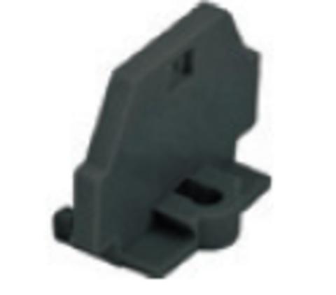 Торцевая пластина для клемм МКМ 1,5мм2 универсальная (черная) TDM