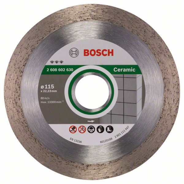Алмазный диск Best for Ceramic 115-22,23 Bosch 2608602630