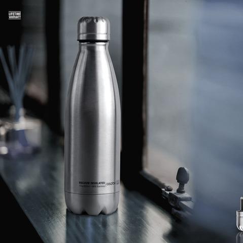 Термос-бутылка Asobu Central park (0,51 литра), стальная