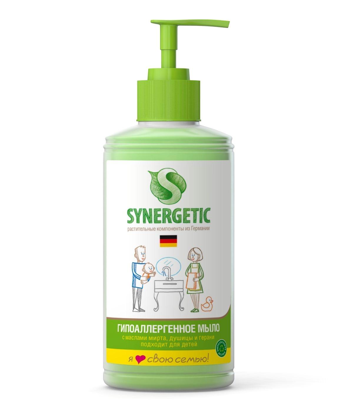 Жидкое мыло, SYNERGETIC, травы, 250 мл.