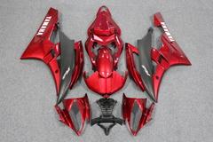Комплект пластика для мотоцикла Yamaha YZF-R6 06-07 Красно-Черный