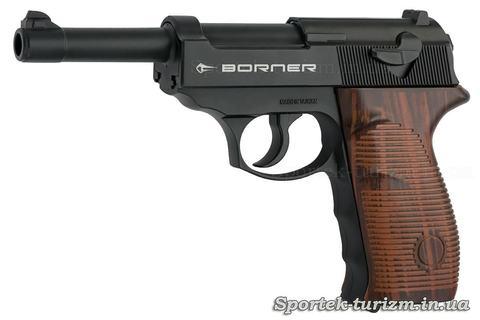 Пистолет пневматический Borner C41 калибра 4,5 мм, газобаллонный