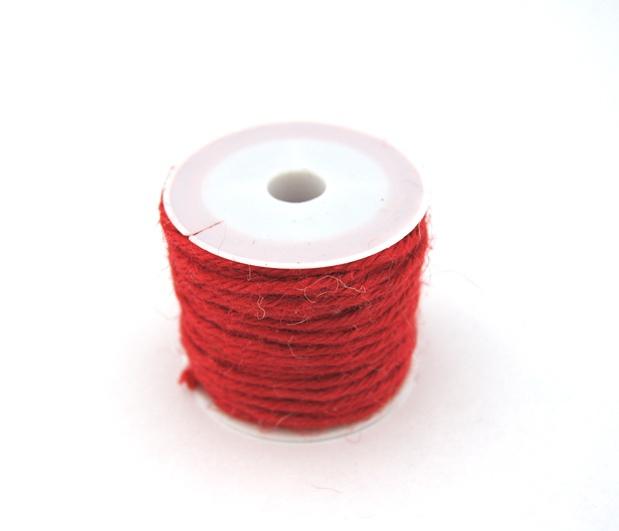 Декоративный шнур лен 100%, 10 м.