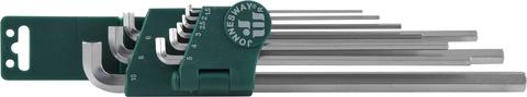 H03SS109S Набор ключей торцевых шестигранных для труднодоступных мест, 9 предметов