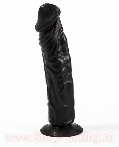 Анальный фаллоимитатор на присоске, БИОКЛОН (4,4 х 19,5 см)